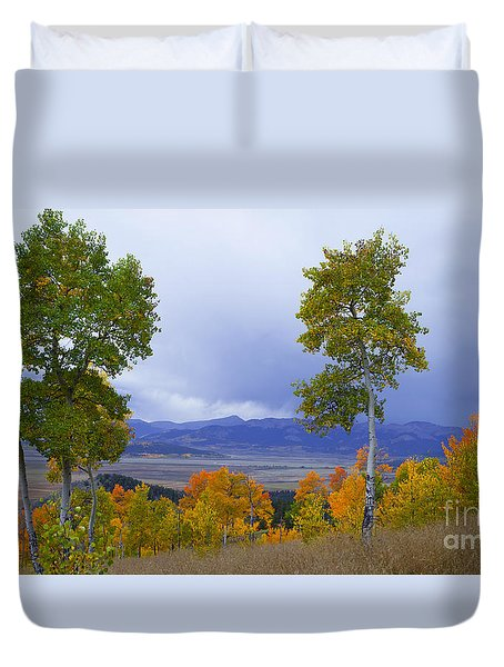 Kenosha Pass Duvet Cover
