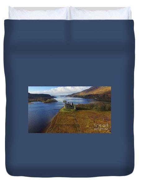 Kilchurn Castle Duvet Cover