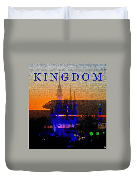 Duvet Cover featuring the digital art Kingdom by David Lee Thompson