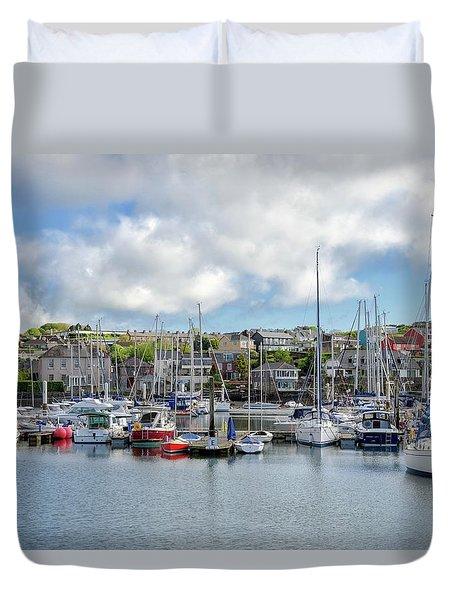 Kinsale Harbor  Duvet Cover