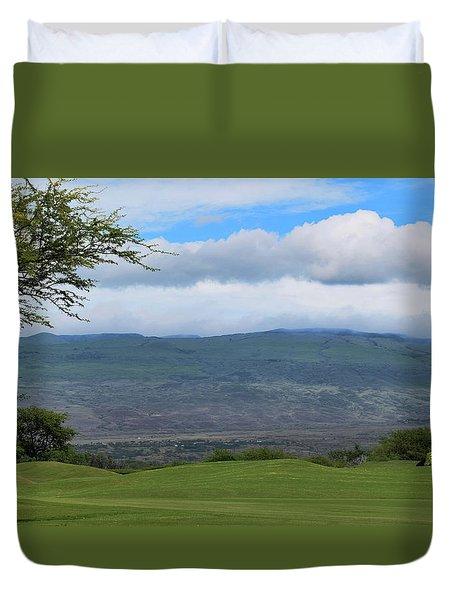 Duvet Cover featuring the photograph Kohala Mountain by Pamela Walton