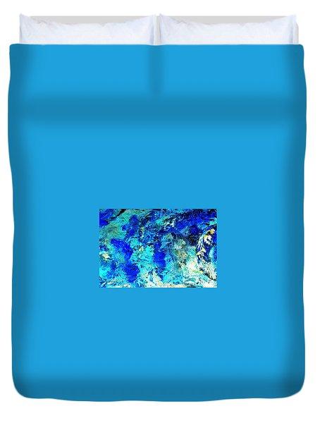Koi Abstract Duvet Cover