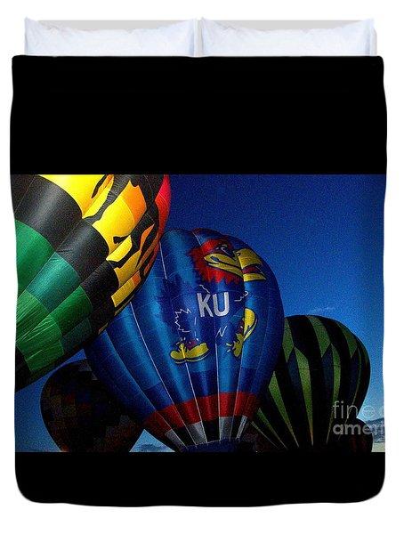 Ku Ballon Duvet Cover