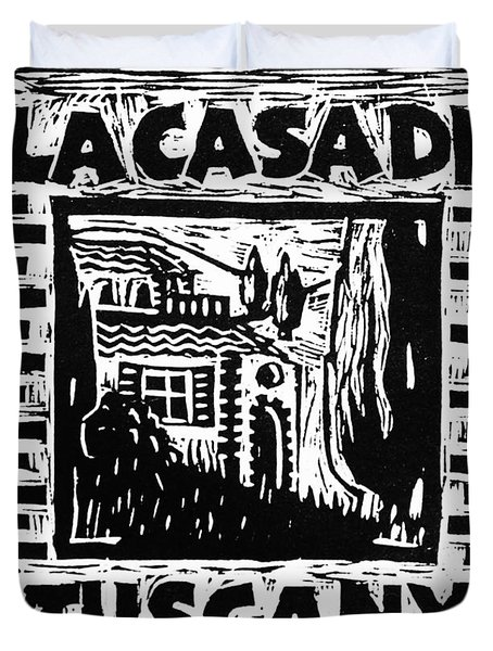 La Casa Di Tuscany Duvet Cover