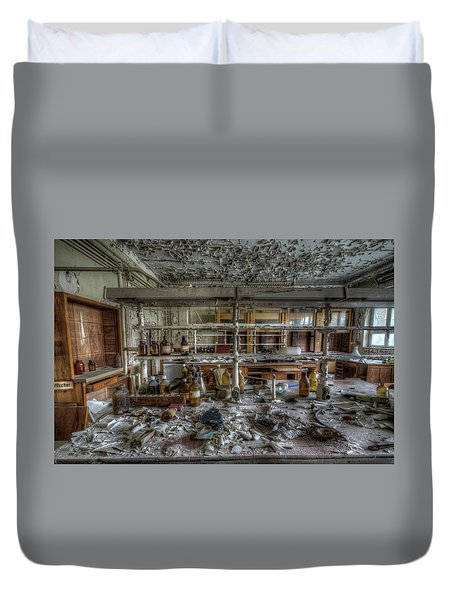 Lab 1 Duvet Cover by Nathan Wright