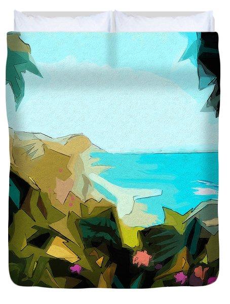 Laguna Duvet Cover