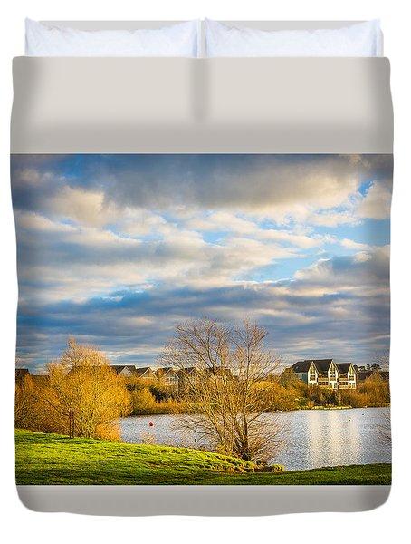 Lake View Duvet Cover