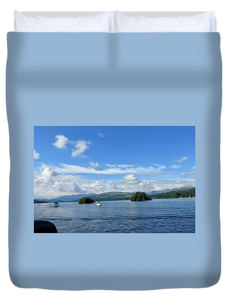 Lake Windermere England  Duvet Cover