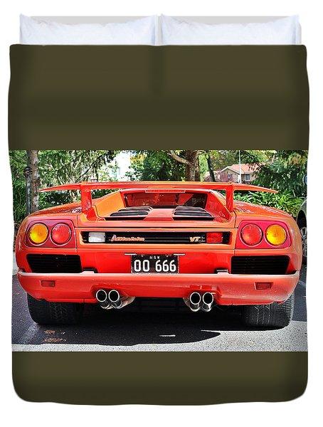 Lamborghini Diablo Vt Duvet Cover