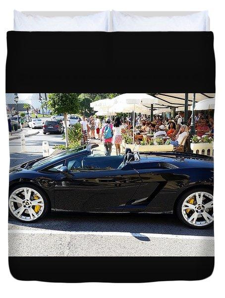 Lamborghini Gallardo Spyder Duvet Cover