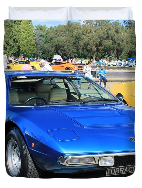 Lamborghini Urraco P250s Duvet Cover