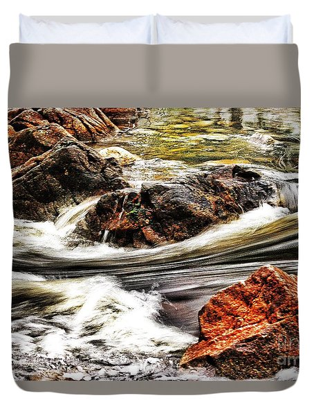 Lamina Flow Duvet Cover by Blair Stuart
