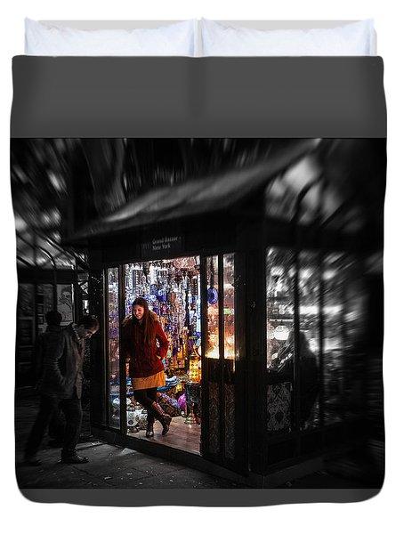 Lamp Shop Duvet Cover
