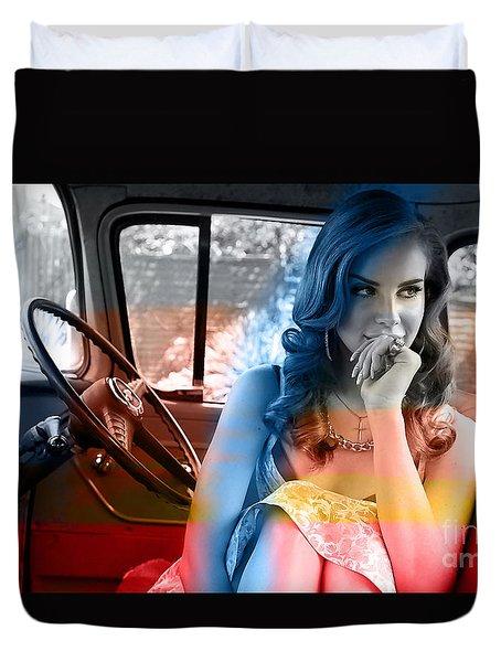 Lana Del Rey Duvet Cover