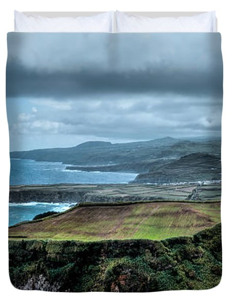 Landscapespanoramas Duvet Cover