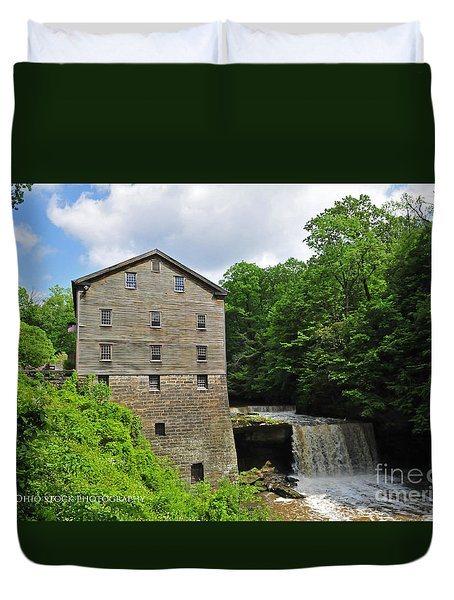 D9e-28 Lantermans Mill Photo Duvet Cover