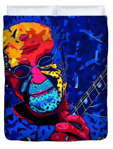 Larry Carlton Duvet Cover