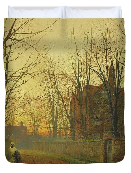 Late October Duvet Cover