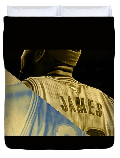 Lebron James Collection Duvet Cover