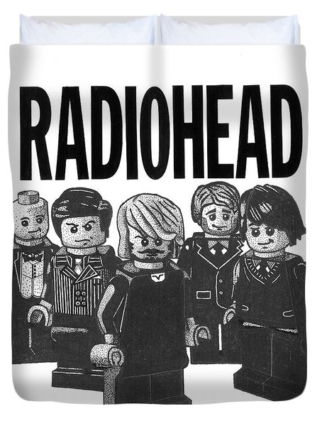 Lego Radiohead Duvet Cover