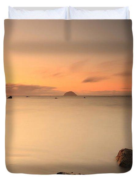 Lendalfoot Sunset Duvet Cover