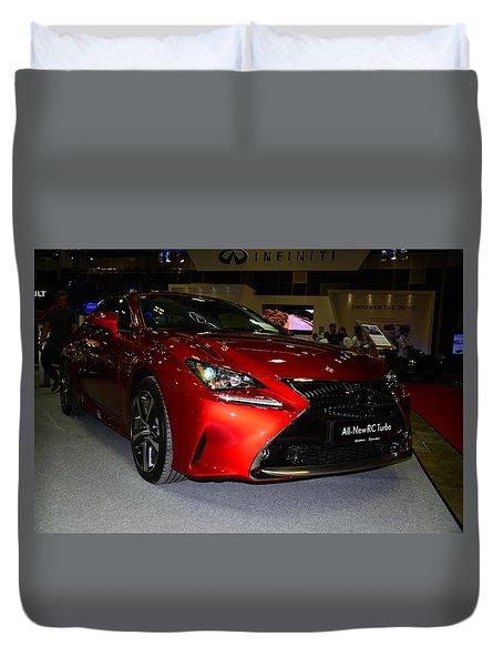 Lexus Rc Turbo Duvet Cover