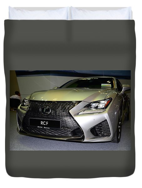 Lexus Rcf Duvet Cover