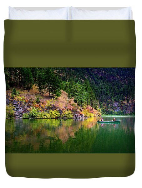 Duvet Cover featuring the photograph Life Is But A Dream by John Poon