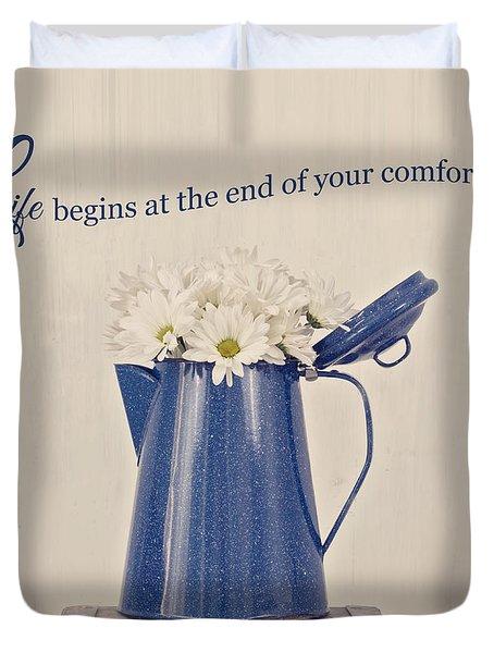 Comfort Zone Duvet Cover
