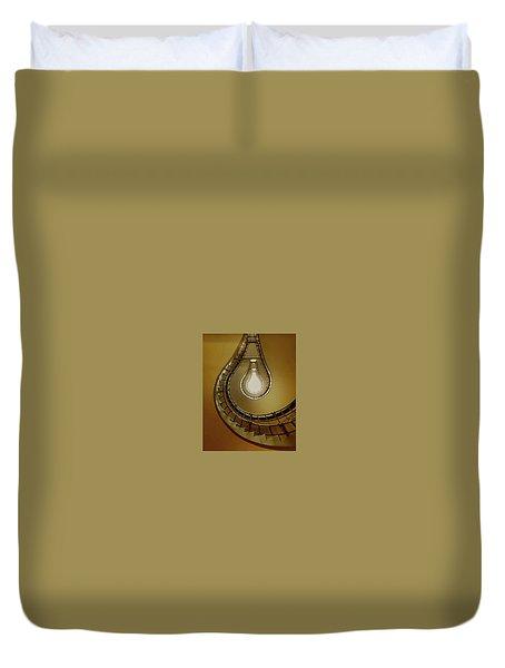 Light Bulb Staircase Duvet Cover