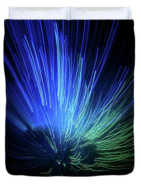 Light Burst-2 Duvet Cover