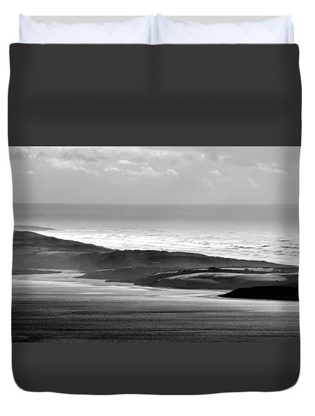 Light On The Dunes Duvet Cover