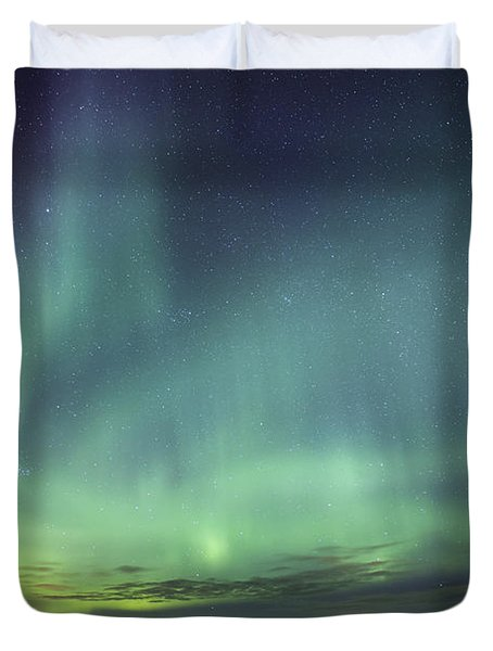 Lights And Motion Duvet Cover