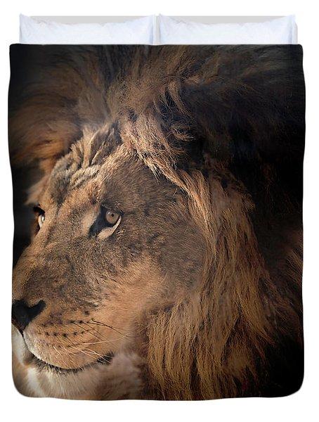 Lion King Of The Jungle Duvet Cover