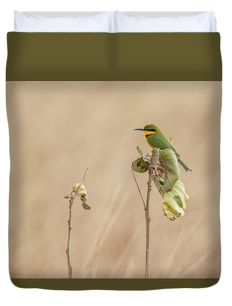 Little Bee-eater Duvet Cover
