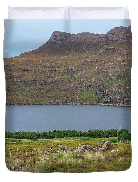 Little Loch Broom - Scotland Duvet Cover