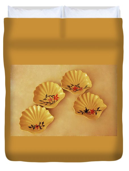 Little Shell Plate Duvet Cover
