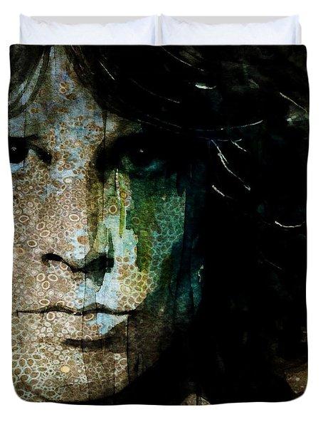 Lizard King / Jim Morrison Duvet Cover