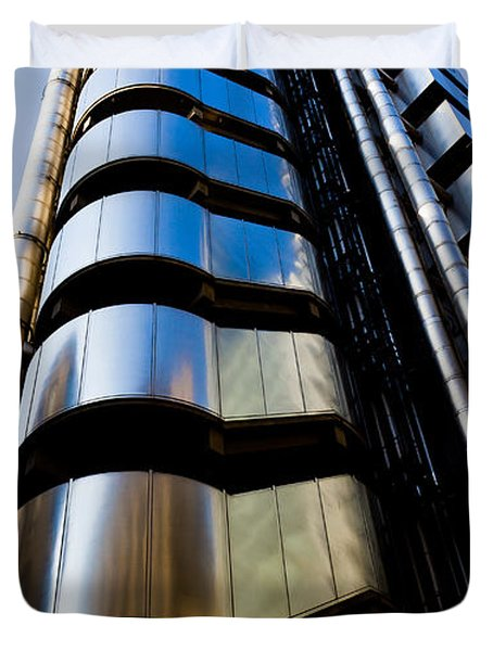 Lloyds Of London  Duvet Cover by David Pyatt
