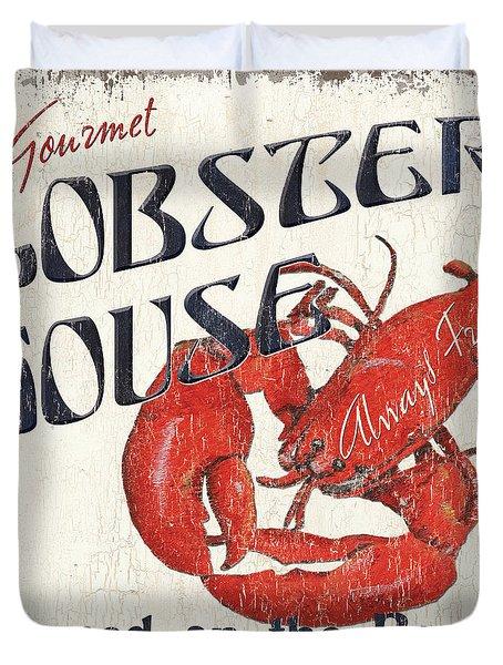 Lobster House Duvet Cover