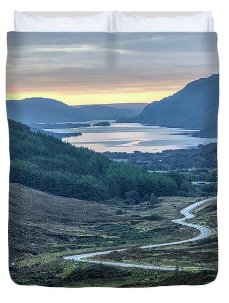 Loch Maree - Scotland Duvet Cover