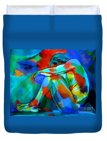 Lonely Thoughts Duvet Cover