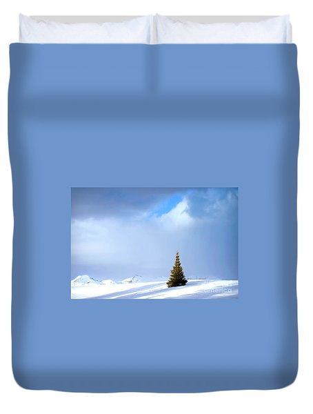 Lonesome Pine Duvet Cover