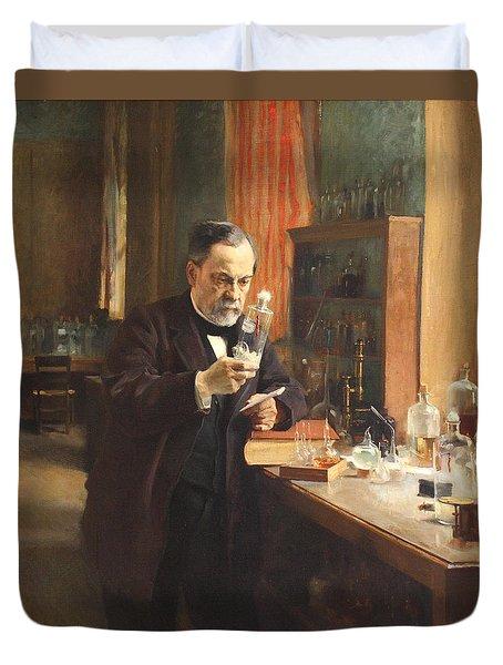 Louis Pasteur Duvet Cover