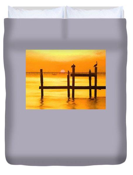 Louisiana Evening Duvet Cover