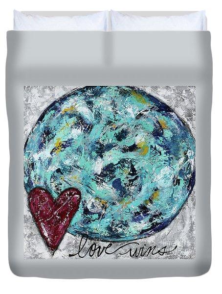 Love Wins Duvet Cover