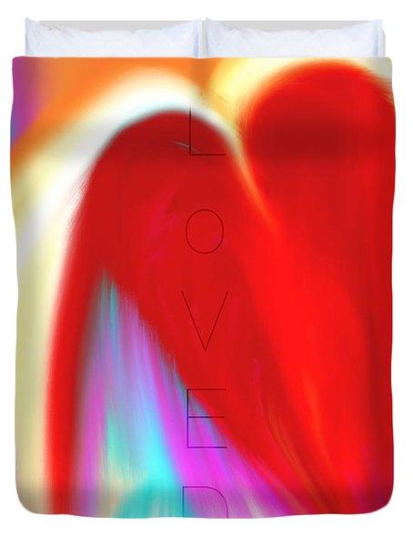 Loved Duvet Cover