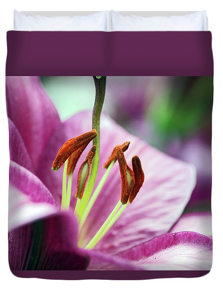 Lovely Lily Duvet Cover