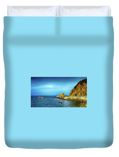 Lovers Cove Duvet Cover