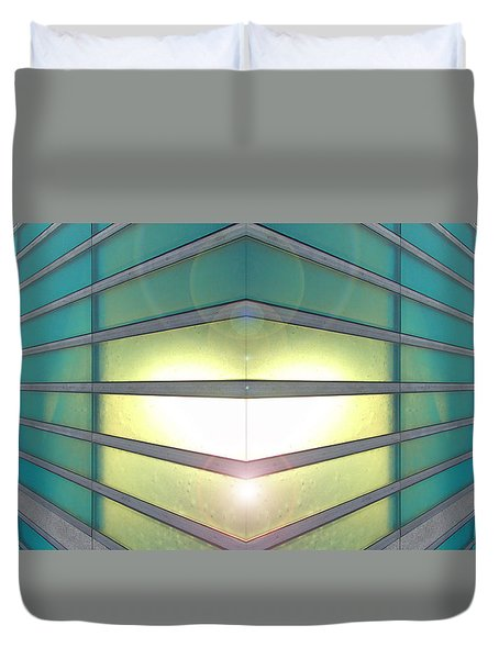 Luminous Corner Duvet Cover